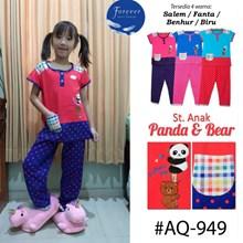 Baju Tidur Babydoll forever anak  CP AQ 949