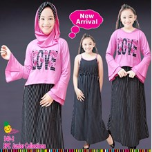 Setelan hijab Little Pineapple 540-2 (Uk 16-18)
