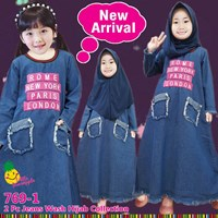 Gamis anak little pineapple 769-1