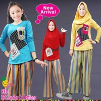 Setelan muslim Little Pineapple 933-1