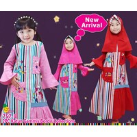 Gamis little pineapple 757-8(uk 2-6)