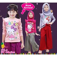 Suit Muslim culottes Little Pineapple hijab 578-5 (uk 2-12)