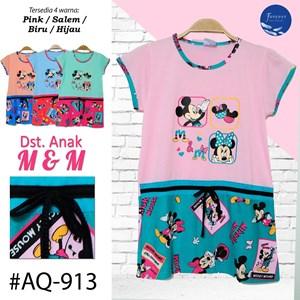 Baju anak Tidur daster Forever AQ 913 (S-M-L)