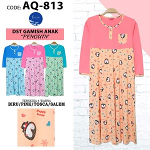 Baju anak Muslim  Gamis Forever AQ 813