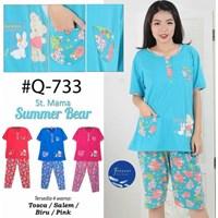 Baju Tidur Forever 3/4 Q 733 1