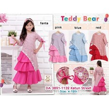 Gamis Anak Teddy Bear 3891-1132
