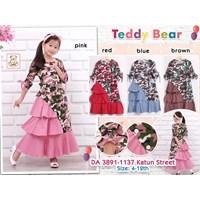Gamis Anak Teddy Bear 3891-1137