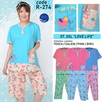 Sleeping clothes 3/4 forever jumbo R 274