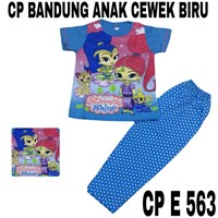 Baju Tidur Bandung CP E 563 biru cewek uk 14-18