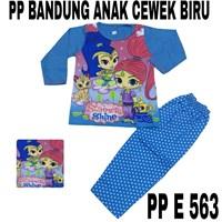 Dari Baju Tidur Bandung PP E 563 biru cewek uk 8-12 0