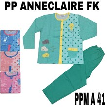 Baju Tidur Anneclaire full kancing PPM A 41