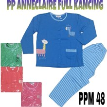 Baju Tidur Anneclaire full kancing PPM 48