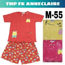 Baju Tidur Anneclaire full kancing M 55