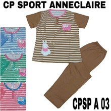 Baju Tidur Anneclaire sport CPSP A 03