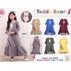 Gamis anak Muslim teddy bear 3999A (uk 4-6) 1