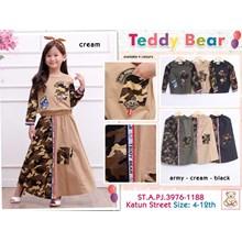 Setelan anak Muslim teddy bear 3976-1188