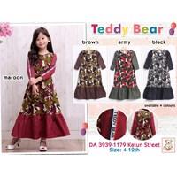 Gamis anak teddy bear 3939-1179