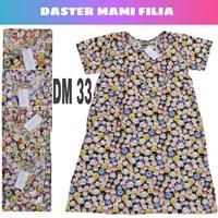 Baju Tidur daster katun filia mami DM 33