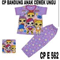 Baju Tidur anak bandung cewek CP E 562(uk 8-12)