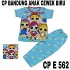 Baju Tidur anak bandung cewek biru CP E 562(uk 4-6) 1