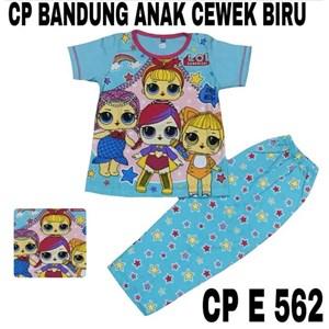 Baju Tidur anak bandung cewek biru CP E 562(uk 8-12)