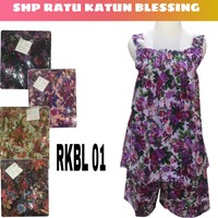 Cotton Strap SHP Sleepwear RKBL 01 blessing