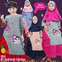 Baju Muslim Anak gamis little pineapple 209-3