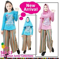 Muslim suit culottes little pineapple 563-13