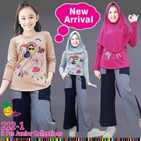 Muslim suit culottes little pineapple 212-1