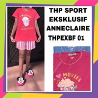 Baju tidur THP sport exclusif anneclaire THPEXBF 01