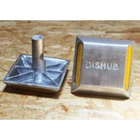 Jual Paku Marka Jalan Aluminium (DISHUB)