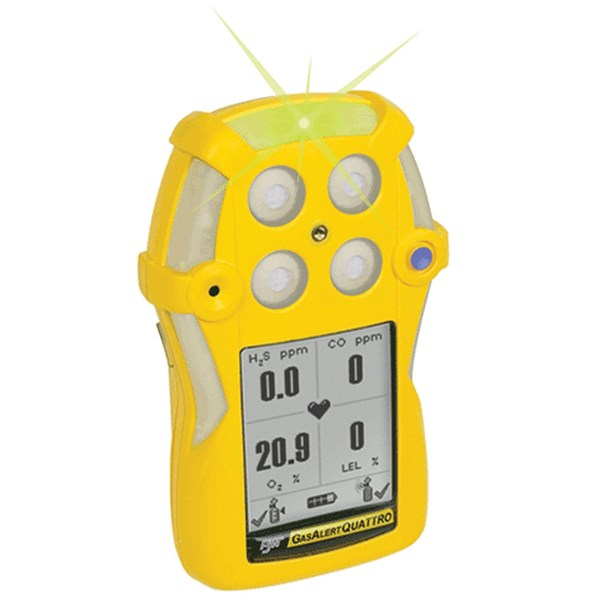 Gas Alert Quattro™ Gas Detector