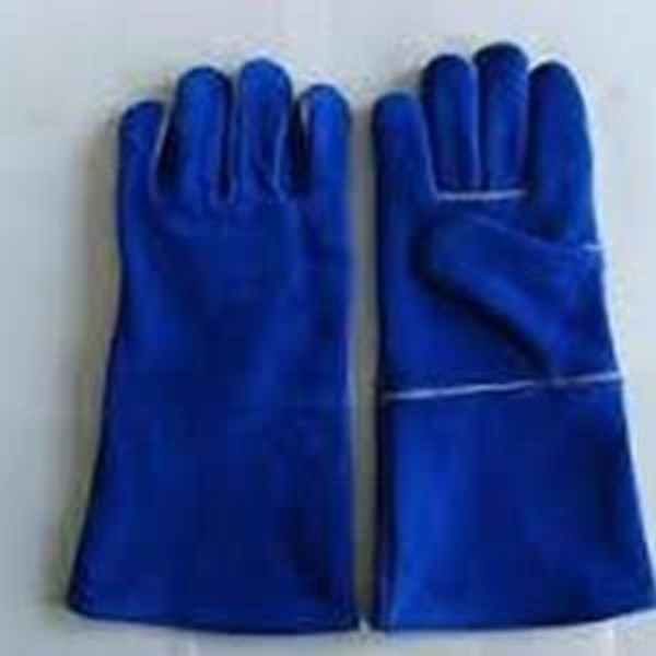 "Sarung Tangan Pelipit 16"" Welding Leather Gloves"