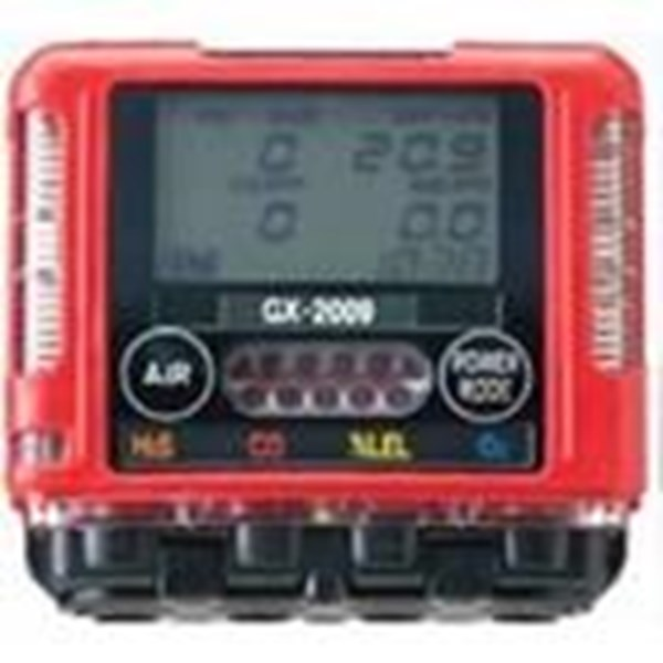 Gas Analyzers Monitor RKI GX-2009 4
