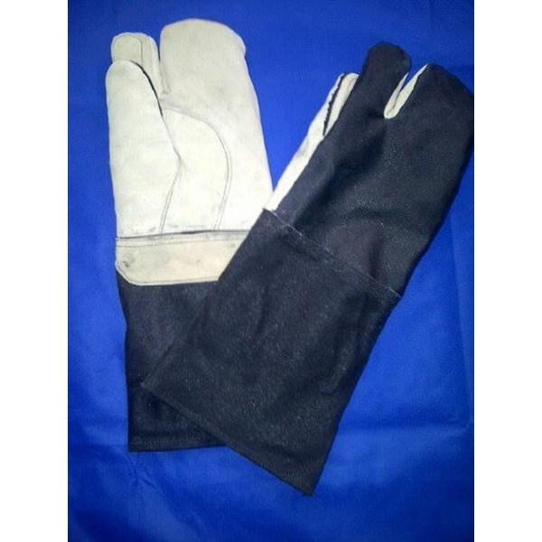 Sarung Tangan Kombinasi Lokal atau Suede Jeans
