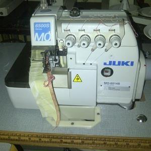 mesin jahit obras juki mo 6514s