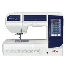 computer embroidery sewing machine elna 860