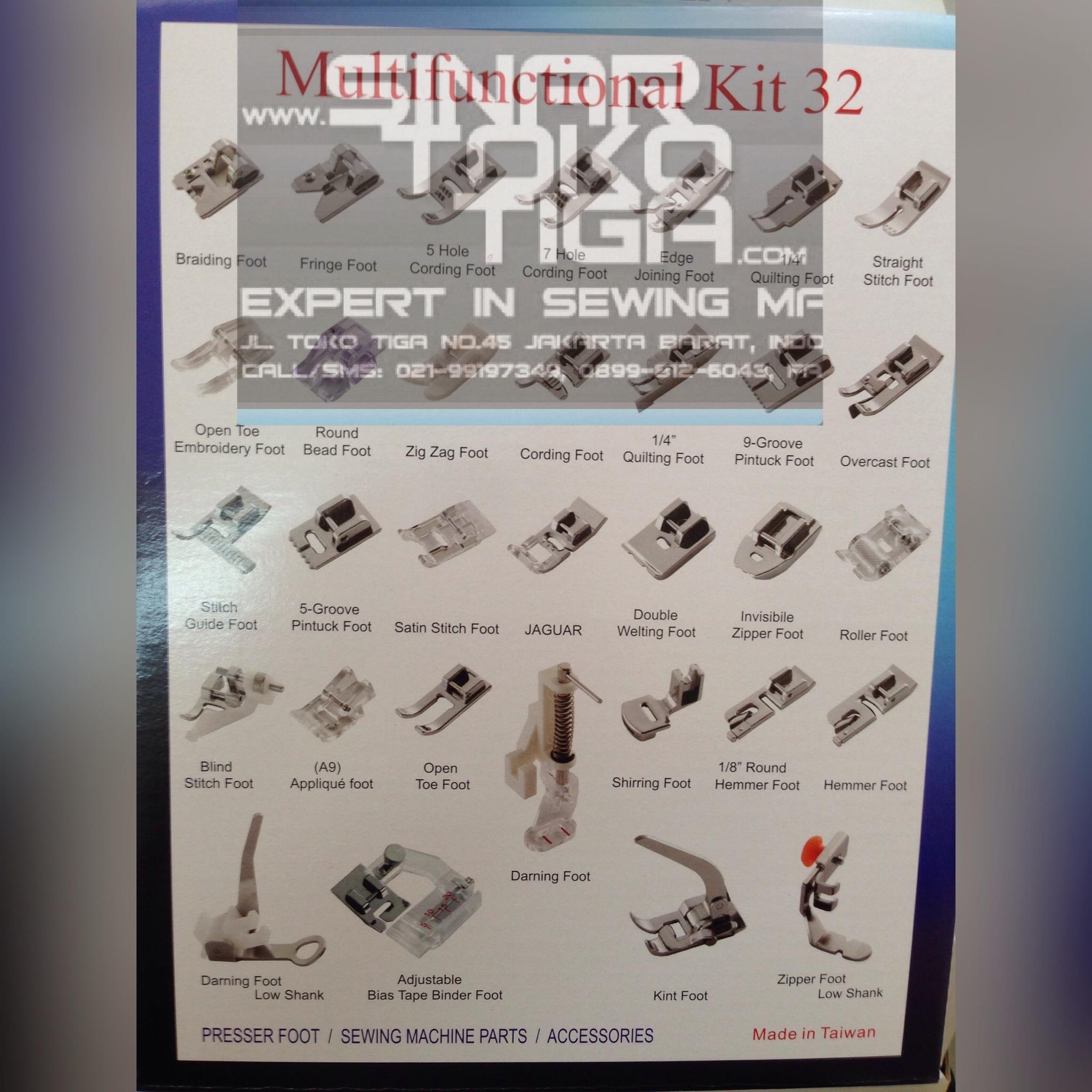 Jual Sepatu Mesin Jahit Portable Multifungsi Presser Foot Sinar Toko Butterfly Jh 8190s Tiga Harga Murah Jakarta Oleh