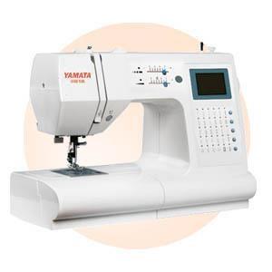 Mesin Jahit Portable Yamata fy 7568