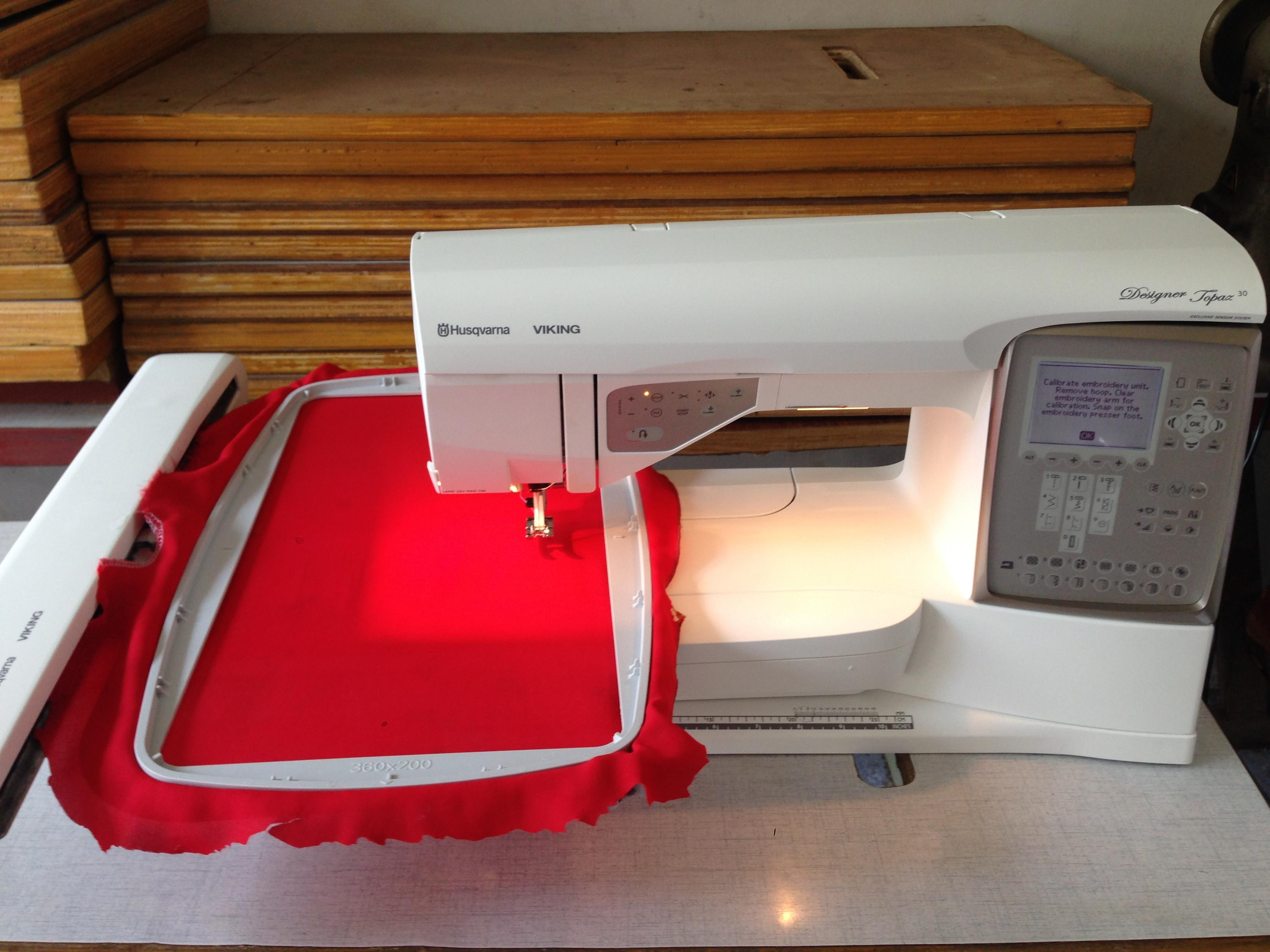 Sell Computer Embroidery Sewing Machine Husqvarna Viking Topaz Mesin Singer 1306 Xl 400 580 Brother Janome Elna Cny E900 Messina Disney D7500 From Indonesia By Toko