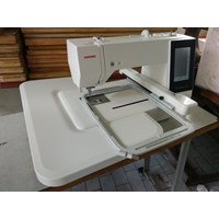 Distributor Sewing machines Embroidery Janome MC 500E Portable computer Automatically 3