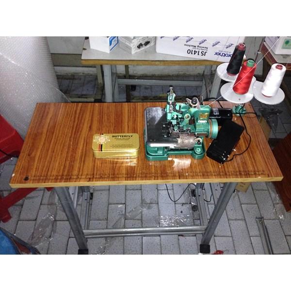 Mesin Jahit Obras Butterfly GN1-1 Rumah Tangga Full Set
