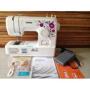 Dari Mesin Jahit Brother JA1400 Portabel Rumah Tangga JA 1400 mesin jahit obras neci portable 1