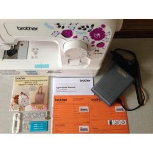 Dari Mesin Jahit Brother JA1400 Portabel Rumah Tangga JA 1400 mesin jahit obras neci portable 2