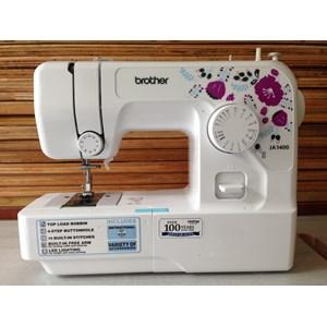 Dari Mesin Jahit Brother JA1400 Portabel Rumah Tangga JA 1400 mesin jahit obras neci portable 9