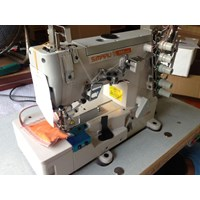 Mesin tekstil-Mesin Jahit Kaos Overdeck Simaru SM 500-2