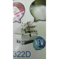 Distributor Mesin Neci obras Singer 323D Hihg Speed Neci 3 benang  3