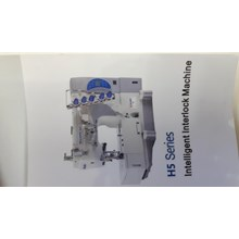 Mesin jahit overdek kaos Shunfa H5 Series Intelligent Interlock Series industri garmen sinar toko tiga mesin jahit jakarta kota asemka pancoran glodok