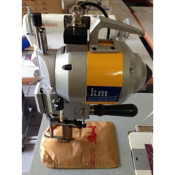 Mesin Potong bahan kain KM 8 5 6 10 inch  (Original Japan) cloth cutting machine sinar toko tiga mesin jahit jakarta kota asemka pasar pagi perniagaan glodok