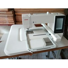 #sinartokotiga Janome MC 500E Memory Craft Mesin Jahit Bordir Computer Embroidery Machine Bordir Komputer Portable